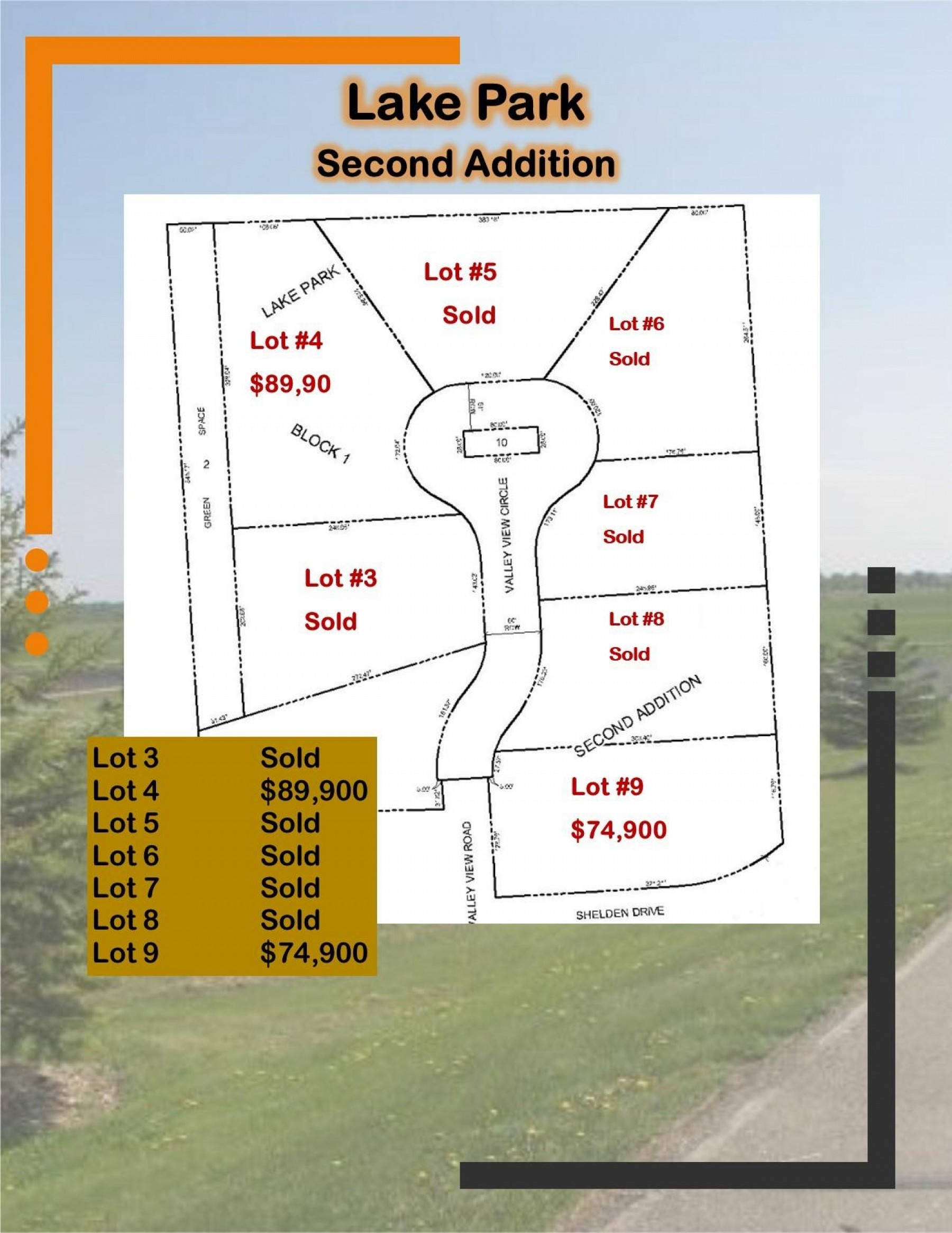 L4, B1 Lake Park Second Addition, Brookings, SD 57006
